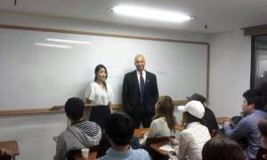 2013-06-19: as Yeonmi was preparing to go overseas, she joined the English Matching program (now, TNKR) for about a month.